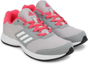 48f98ed527c Adidas KRAY 2 0 W Running Shoes Grey White Best Price in India ...