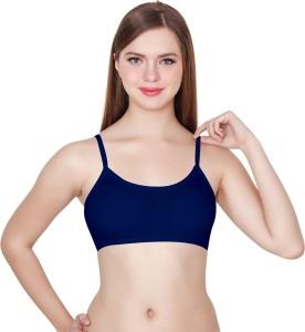 651540ad45 Apraa Women s Girl s Bralette Full Coverage Sports Balconette Dark ...