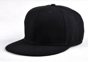 Trendmakerz Black Snapback Cap