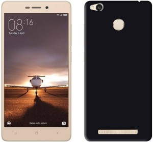 new arrivals c5a31 a400e Flipkart SmartBuy Back Cover for Mi Redmi 3S PrimeSpace Black