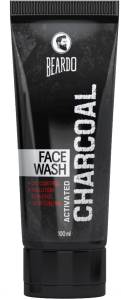 Beardo Activated Charcoal - ACNE, Oil & Pollution Control Face Wash