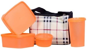 Xudo Lunch box for office/school/college 4 Containers Lunch Box