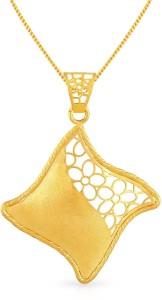 Malabar gold and diamonds malabar 22kt diamond yellow gold pendant malabar gold and diamonds malabar 22kt diamond yellow gold pendant aloadofball Images