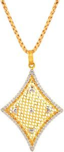Araanz by Tribhovandas Bhimji Zaveri Delhi NA 22kt Yellow Gold Pendant