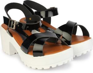 9661d85df1b Do Bhai Women Black Heels Best Price in India