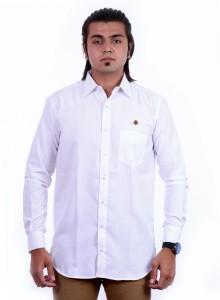 755c5ed9 PP Shirts Men s Printed Formal White Shirt Best Price in India | PP ...