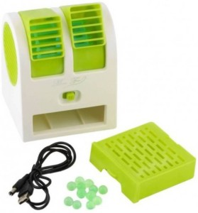 Mezire Mini Air Conditioning USB Cooler (Green) 010 USB Fan