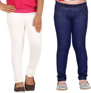 ebd3e0f866833d Greenwich Jegging For Girls Multicolor Pack of 2 Best Price in India ...