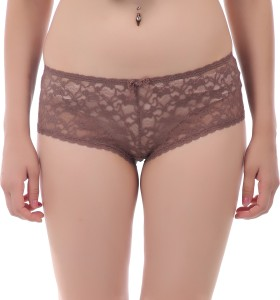 f2ebbcabc23 Gujarish Women s Boy Short Brown Panty Pack of 1 Best Price in India ...