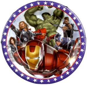 Funcart Funcart 7'' Avengers party paper plates ( 6 pcs/pack) Plate