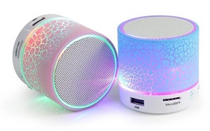 SUPER DEAL BAZZAR STORE LED Portable Portable Bluetooth Mobile/Tablet Speaker