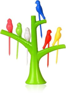 Aarohi Plastic Fruit Fork