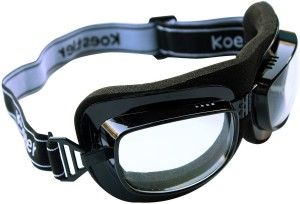 4f110fc4f058 RuggedTrails Clear Glass Motorcycle Goggles Black Best Price in ...