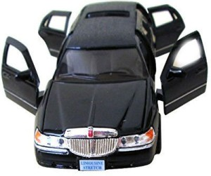 Shrih Stretch Limousine Pull Back Lincoln Town Car Black Best Price