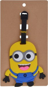 SN toy zone Minion Luggage Tags( Pack of 2) Luggage Tag