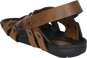 1fd5c0010b5134 Kraasa Men Camel Sandals Best Price in India