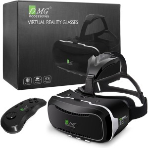 DMG Adjustable Virtual Reality Headset with Advanced ControllerSmart Glasses