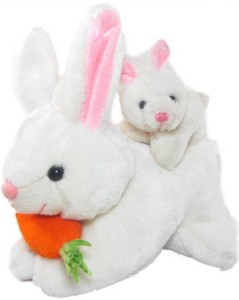 AV Toys Mother Rabbit With Baby - 26 cm  - 26 cm