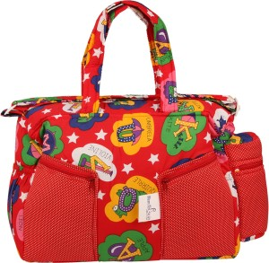 MomToBe Star Printed Diaper Bag