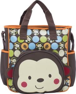 EZ Life EZ Life's Baby Diaper Carry Bag- Monkey - Multicolor (Large) Tote Diaper Bag