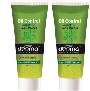 Aroma Leaf Oil Control Anti Acne Face Wash 160 Ml Best Price In