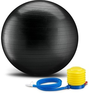 VibeX ™ Exercise With Pump – Strengthen Your Core for Great Abs – Tone – Yoga – Fitness – Stability – Pilates 75 cm Gym Ball