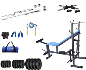 Star X 30Kg Home Gym Combo with 8 in1 Exercise Bench Gym