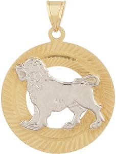 TBZ TheOriginal Leo Horoscope 14kt Yellow Gold Pendant