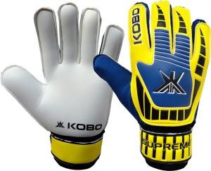 Kobo Supreme Football Goal Keeper Goalkeeping Gloves (L, Multicolor)