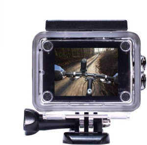 Doodads Action Recording Cam sportcam Waterproof in hd Sports and Action Cam (Black 12 MP) Sports and Action Camera