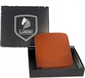 LANDER Boys Brown Artificial Leather Wrist Wallet