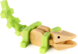 Guidecraft IO Blocks Minis Wild CrocodileMulticolor
