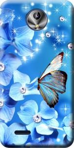 Nainz Back Cover for Intex Aqua Amaze Plus