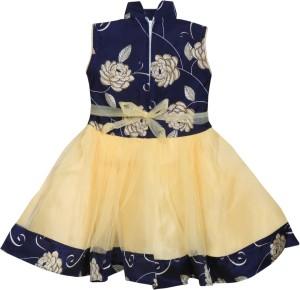 79f632b64cd MKB Baby Girl s Maxi Full Length Casual Dress Blue Sleeveless Best ...