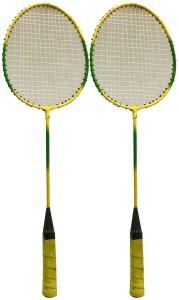 Heega Heega lion king Badminton Racket (blue,black) Standard Strung