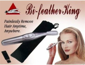 Bi Feather King smooth hair remover Ear, Nose & Eyebrow trimmer For Women