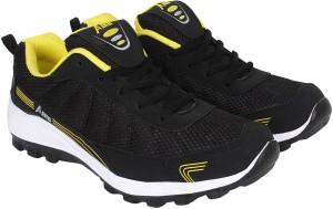 aef961f60781eb Aero AMG Performance Running Shoes Black Yellow Best Price in India ...
