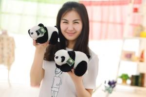 ToynJoy Premium Quality Cute Plush Soft Panda bear  - 30 cm