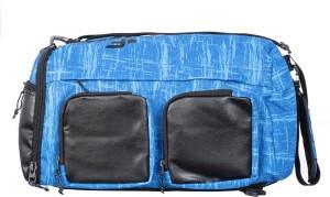 F Gear Xtreme Backpack cum Travel Duffel Bag Black Blue Best Price ... 5ce4fa40bebb7