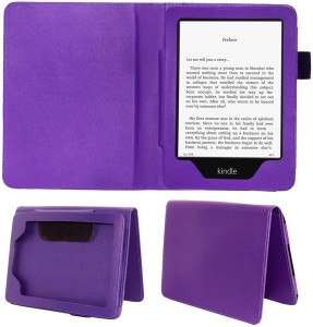 ACM Book Cover for Kindle Paperwhite 3rd Gen 2015Purple