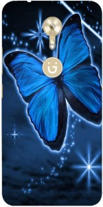 Risers Back Cover for Gionee A1Multicolor, Silicon
