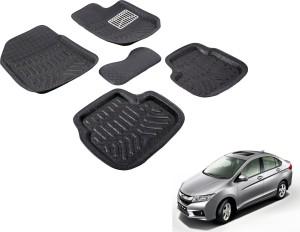 Auto Hub Plastic 3d Mat For Honda City Black Best Price In India
