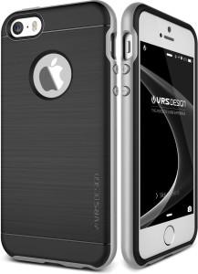 huge discount c3f1b 13a33 VRS Design Bumper Case for Apple iPhone SESatin Silver