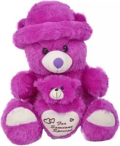 Kashish Trading Company KTC Purple Teddy Bear 12 Inch  - 12 inch