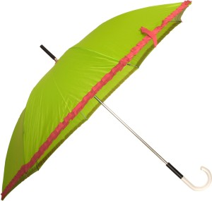 03a502d339965 Sun Brand Chick Green Long Frill Umbrella Umbrella Green Red Best ...