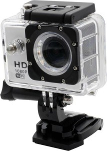 Mezire HD Action Adventure camera-04 1 Camera, 1 Waterproof Housing, 1 Handle Bar, 1cPole Mount, 4 Mounts, 1 Battery, 1 USB Cable, 1 User Manual Sports & Action Camera