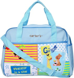 "Baby Bucket ""Mummy Is A Star"" Print Diaper Bag Backpack Diaper bag"