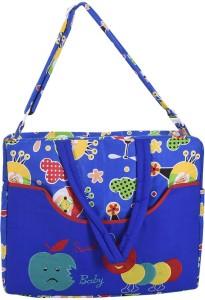 Kidzvilla Baby Diaper Bag Cotton (Blue) Diaper Bag