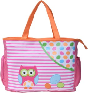 Baby Bucket Owl print Mother Bag Backpack Diaper Bag