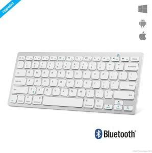 Zaap ULTRA SLIM Portable Bluetooth Wireless Tablet Keyboard